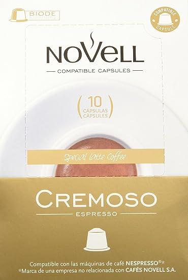 Cafes Novell Pack Cremoso - 40 Cápsulas