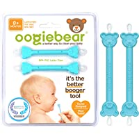 oogiebear - Patented Curved Scoop and Loop - The Safe Baby Nasal Booger and Ear Cleaner - Baby Shower Registry Essential…