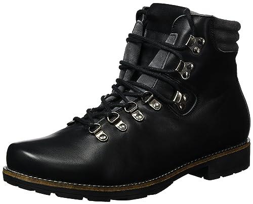 Hirschkogel 3001526, Botines para Hombre, Negro, 43 EU: Amazon.es: Zapatos y complementos