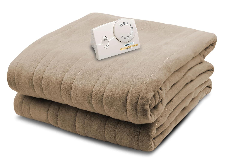 Amazon.com: Biddeford 1001-903292-706 Comfort Knit Electric Heated ...