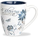 Pavilion Gift Company Blessing Ceramic Mug, 17-Ounce, Mark My Words,Multicolored