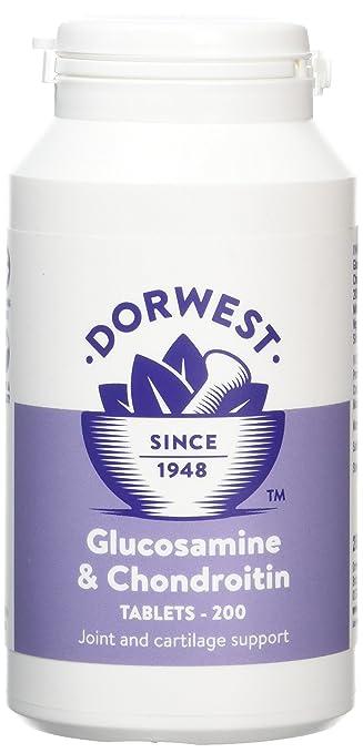 Amazon.com: Dorwest hierbas Glucosamina y Condroitina ...