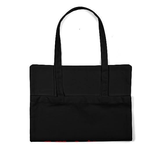 23dae2d38 LaMAGLIERIA Bolsa de Tela Linkin Park Japan Logo Red Print - Tote Bag  Shopping Bag 100% algodòn, Negro: Amazon.es: Hogar