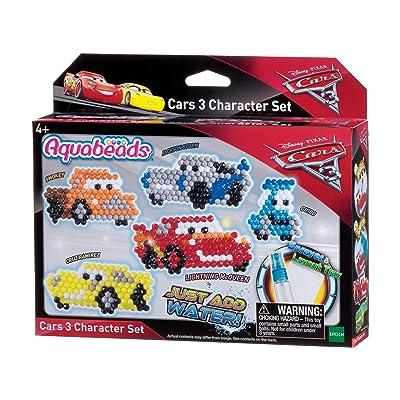 Aquabeads- Set Cars 3 Personajes (Epoch para Imaginar 30218): Juguetes y juegos