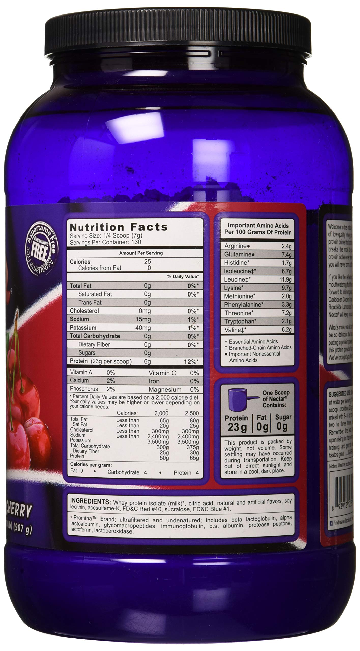 Syntrax, Nectar, Twisted Cherry, 2 Pound by Syntrax (Image #5)