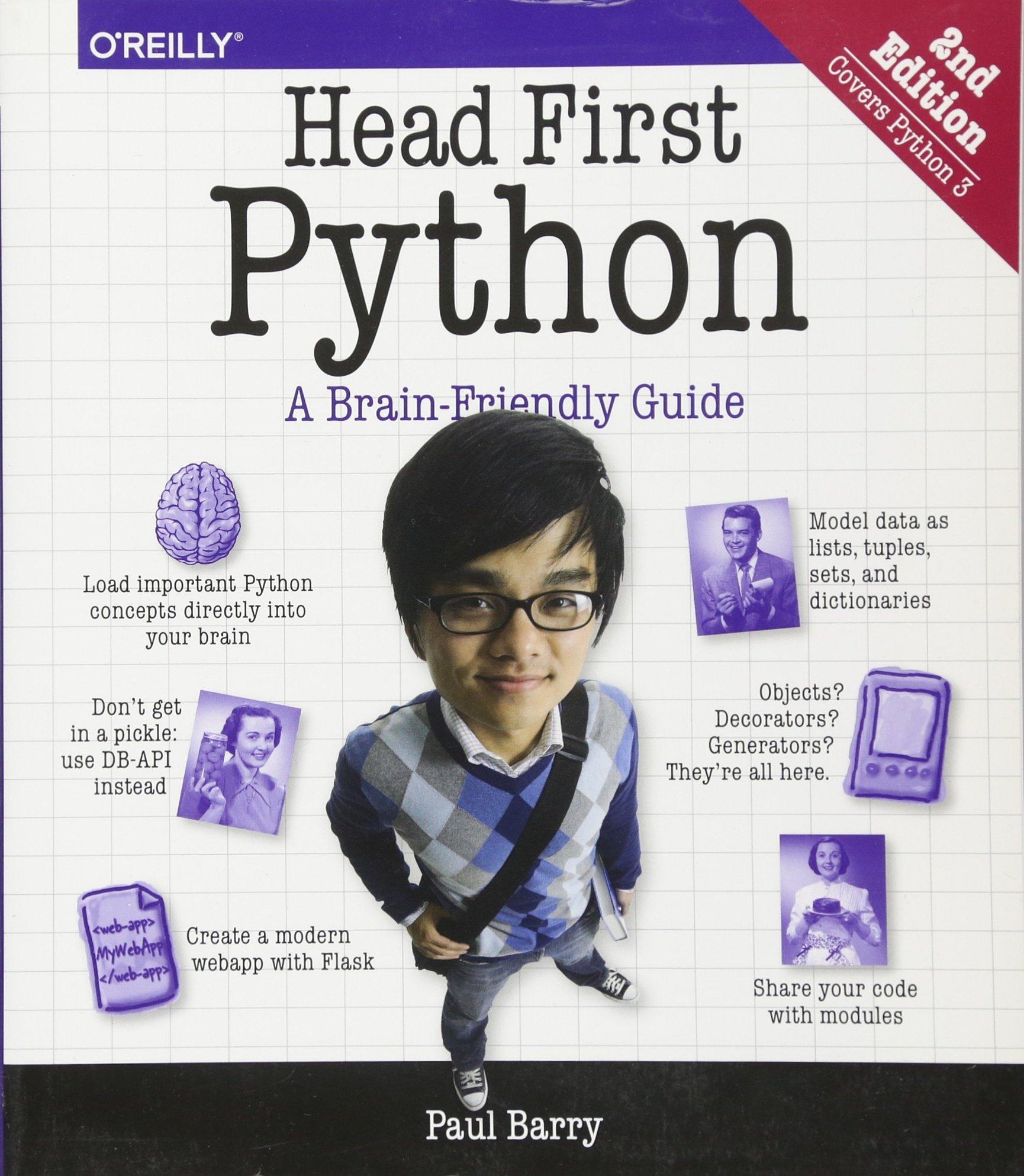 Head First Python: A Brain-Friendly Guide by O'Reilly Media