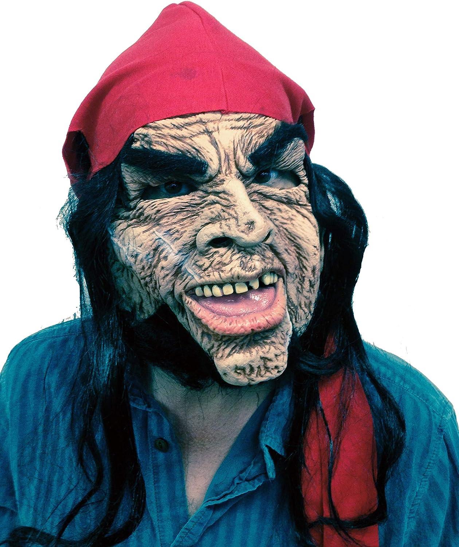 Ram Rod Pirata Máscara de Halloween: Amazon.es: Ropa y accesorios