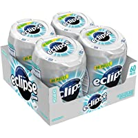 Eclipse Gum 极地冰口香糖,60粒/瓶(4瓶)
