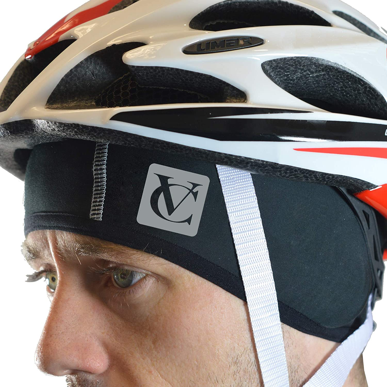 Negro Cycling Skull Cap VeloChampion Casquete de Ciclismo Thermo Tech Gorro Bajo-Casco