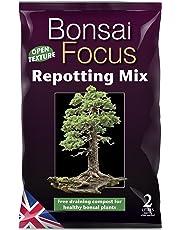 Growth Technology Mezcla de trasplante Bonsai Focus de 2 litros