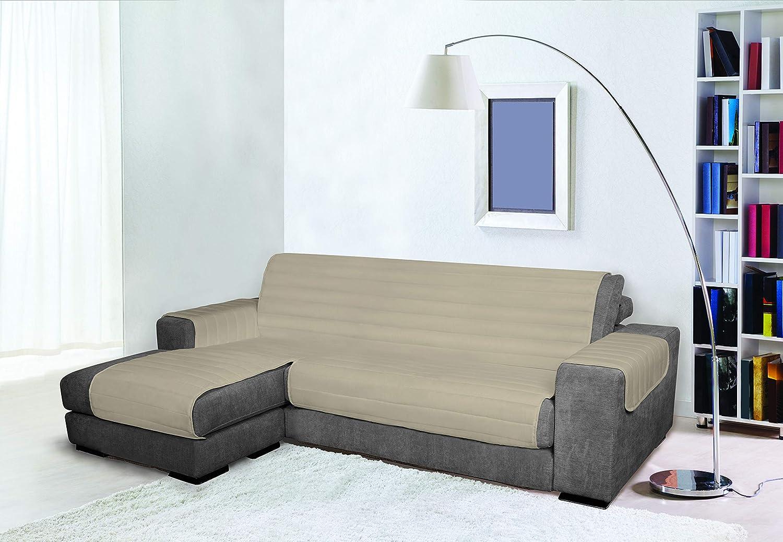 Trendy Funda para sofà de Doble Cara, Resistente al Agua, Gris 290cm