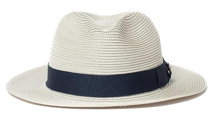 13581d59 Goorin Bros. Men's Love Me Packable Straw Fedora at Amazon Men's ...