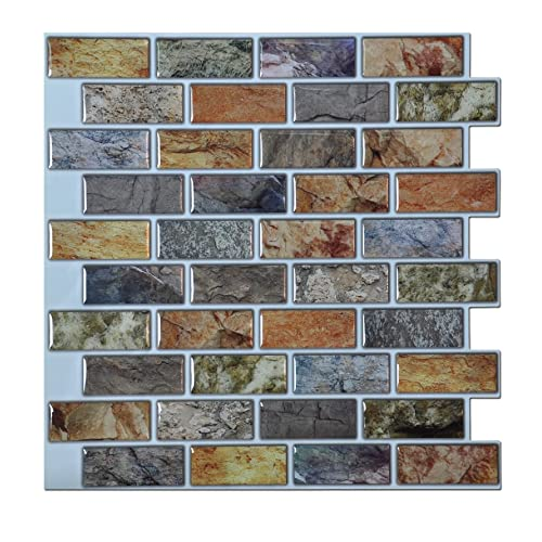 Best X10 Peel N And Stick Backsplash Tile For Kitchen: Ceramic Wall Tiles For Bathroom: Amazon.com