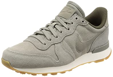 Nike Damen Internationalist SE Sneaker Grau/Grün, 37.5 EU: Amazon.de ...