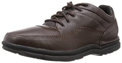 Rockport Men's World Tour Classic Walking Shoe,Brown Tumbled,9 W US