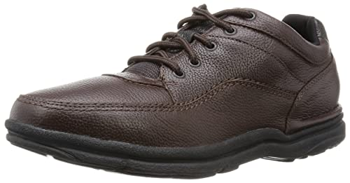 Rockport Men's World Tour Classic Lace-Up Shoes - Brown Tumbled, ...