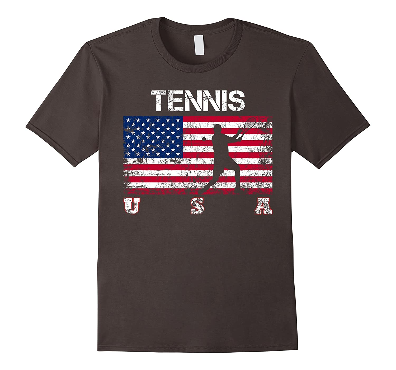 tennis team gift american flag tennis t shirt art artvinatee. Black Bedroom Furniture Sets. Home Design Ideas