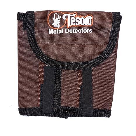 Amazon.com : Tesoro Metal Detector Body Mount Pouch Nylon Cordura Brown : Sporting Goods : Garden & Outdoor