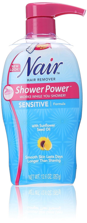 Nair Shower Power Sensitive Formula, 12.6 Oz 29976