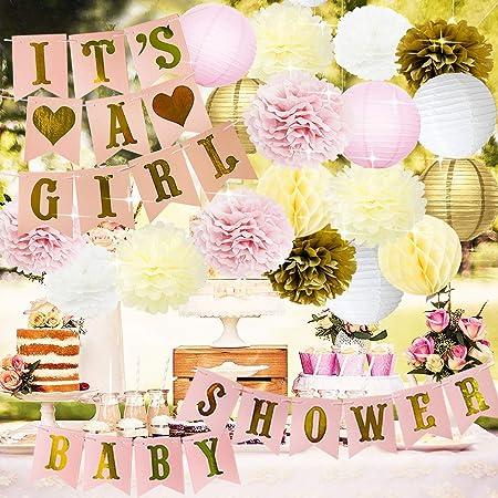Baby Shower Dekorationen BABY DUSCHE & IT