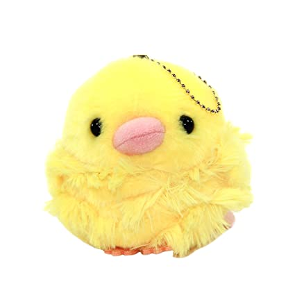 Amazon Com Chicken Plush Keychain Baby Chich Cute Stuffed Animal