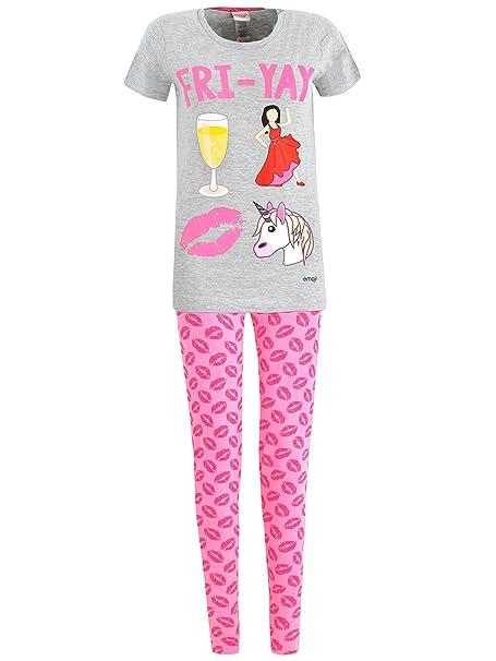 Emoji - Pijama para mujer - Emoji - Size X-Small