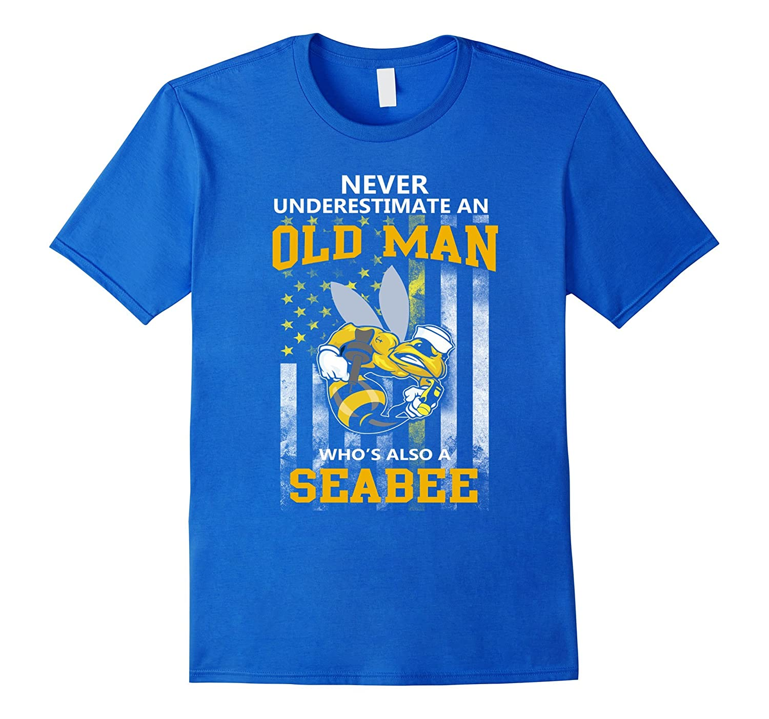 Navy Seabee Old Man T0shirt