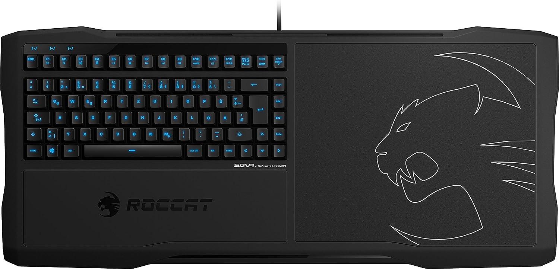 ROCCAT SOVA Gaming Lapboard USB Tastatur deutsches: Amazon