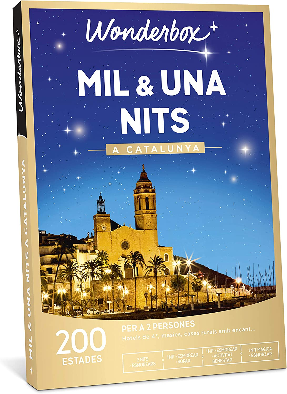 WONDERBOX Caja Regalo - MIL & UNA NITS A Catalunya - una Estancia ...