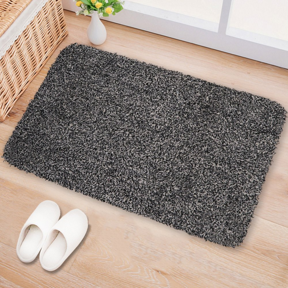 Indoor Doormat Super Absorbs Mud Latex Backing Non Slip