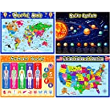 Extra Large Preschool Educational Learning Posters for Kids Toddlers, Nursery Homeschool Pre-K Kindergarten Classroom Decorat