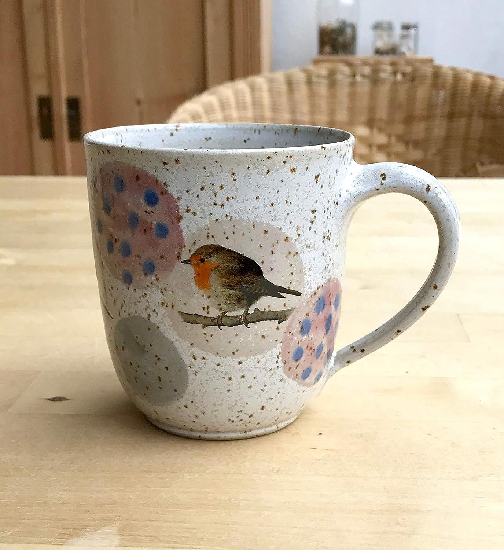 Kaffeebecher mit Rotkehlchen,Blaumeise,Dompfaff-get/öpfert