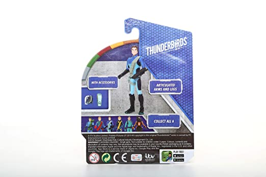 Amazon.com: Thunderbirds A12004 Action Figure 9.5cm Scott ...