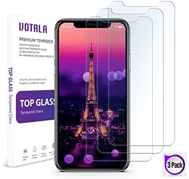 f4a519678fa iPhone XS Max Screen Protector  3 PACK  VOTALA iPhone XS max Tempered Glass  Screen