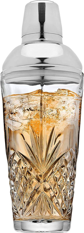 17oz Irish Cut Lefonte Martini Cocktail Shaker