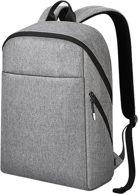 reyleo mochila hombres mujeres mochila resistente al agua mochila Casual mochila mochila para portátil hasta 15.6 pulgadas ordenador portátil para