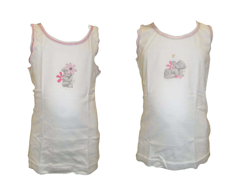 Tatty Teddy M/ädchen Me to You Unterhemden Packung mit 2