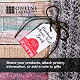 Printable Tags - 1.75 x 3 - Cardstock - Pack of