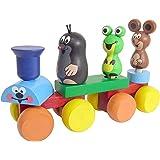 DETOA(デトア) 木製組み立て玩具 『ハッピートレイン・クルテクとお友達』 インテリア雑貨 チェコ製