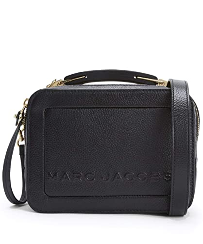 4bd5d60bf Marc Jacobs Women's The Box 20 Pebbled Leather Bag One Size Black ...