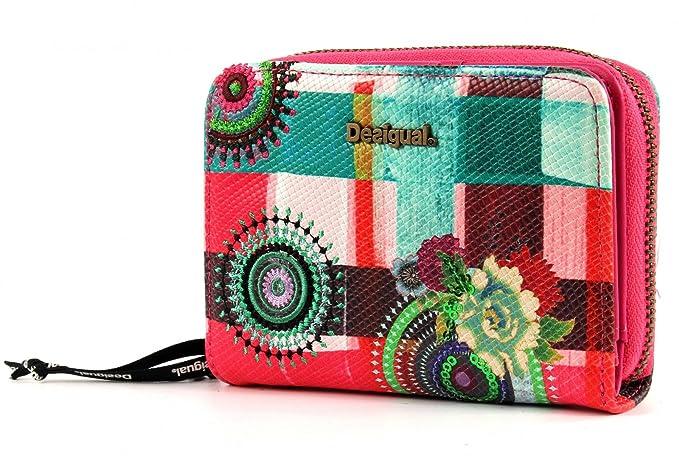 Desigual Mone Magnetic Wendy Monedero Mujer - rosa alejandria 61Y53C5-3050: Amazon.es: Zapatos y complementos