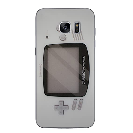 half off 2a6a0 dcf9b Galaxy S7 Controller Silicone Phone Case/Gel Cover for Samsung Galaxy S 7  (S7/G930) / Screen Protector & Cloth/iCHOOSE / Gameboy Advance