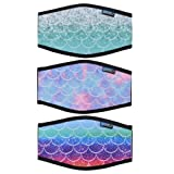 Bluecell 3pcs Fish-Scale Pattern Neoprene Diving