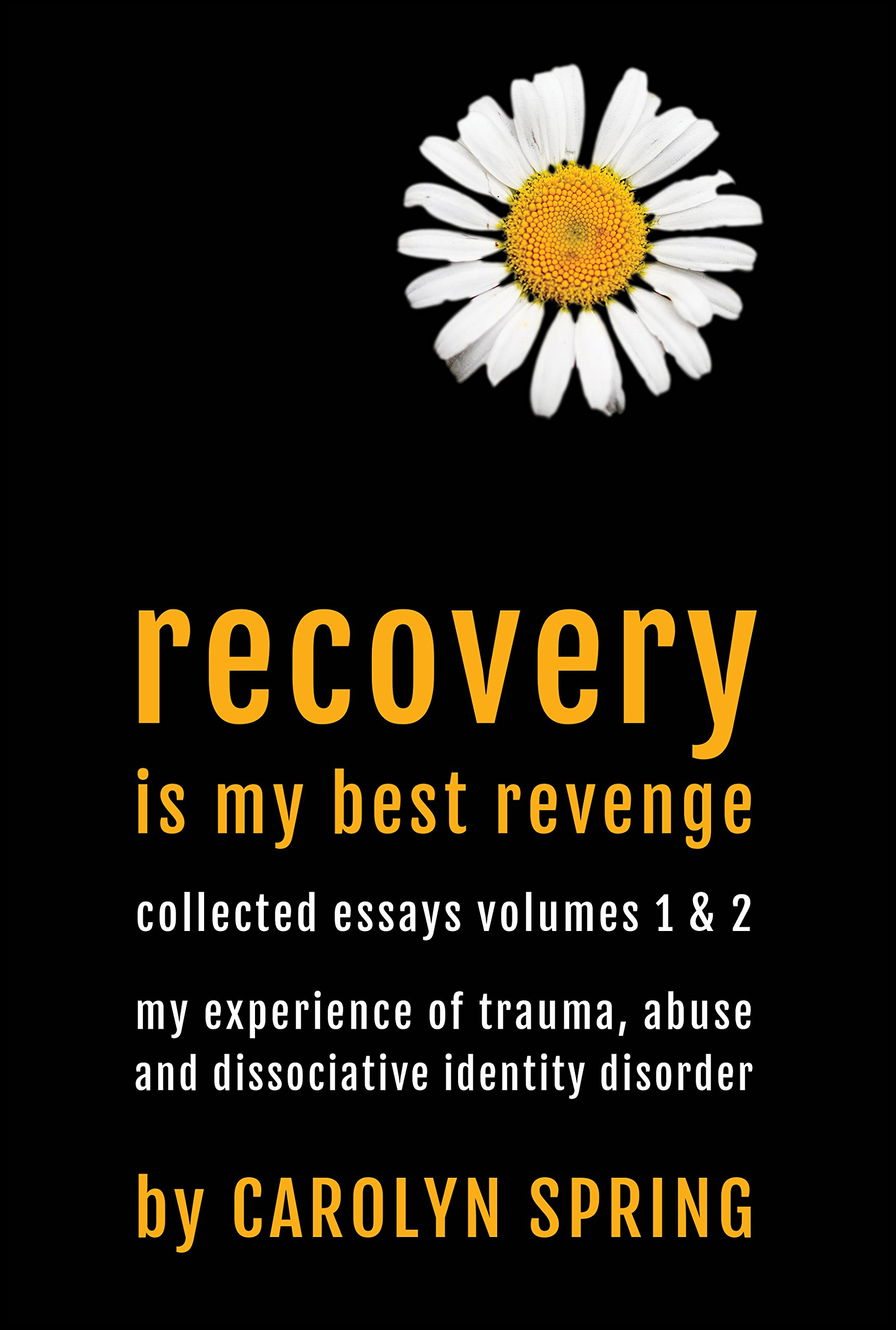 the dissociative identity disorder sourcebook sourcebooks recovery is my best revenge my experience of trauma abuse and dissociative identity disorder
