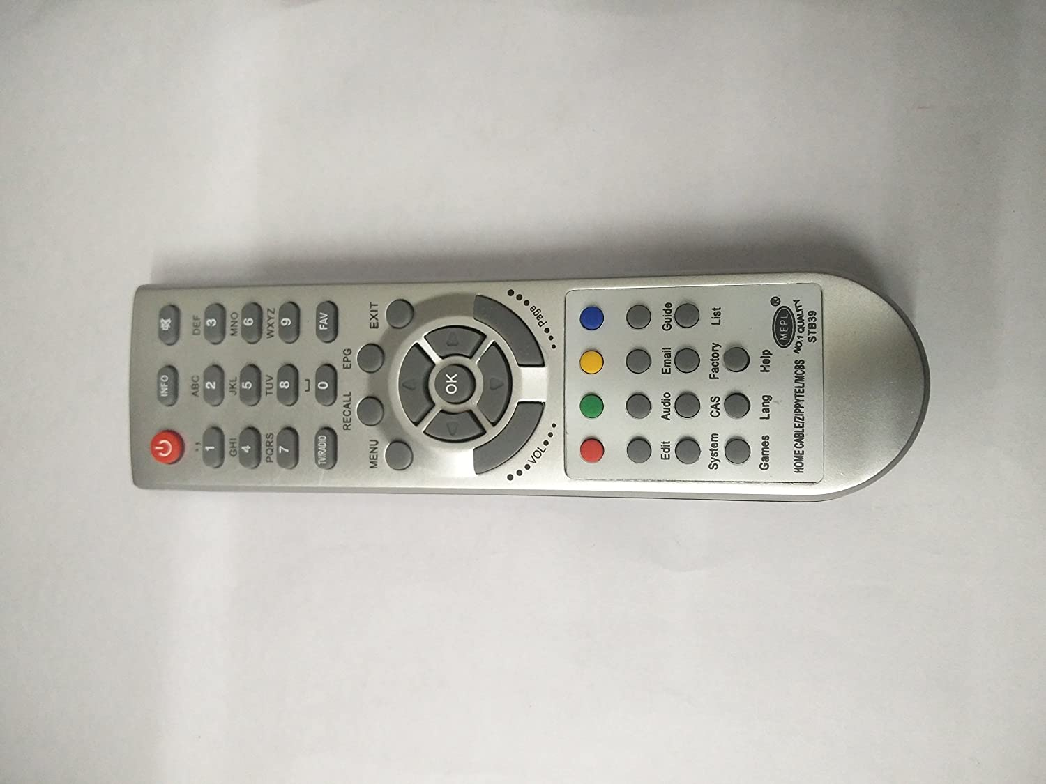 MEPL STB39 Zippytell Set Top Box Remote Contr..