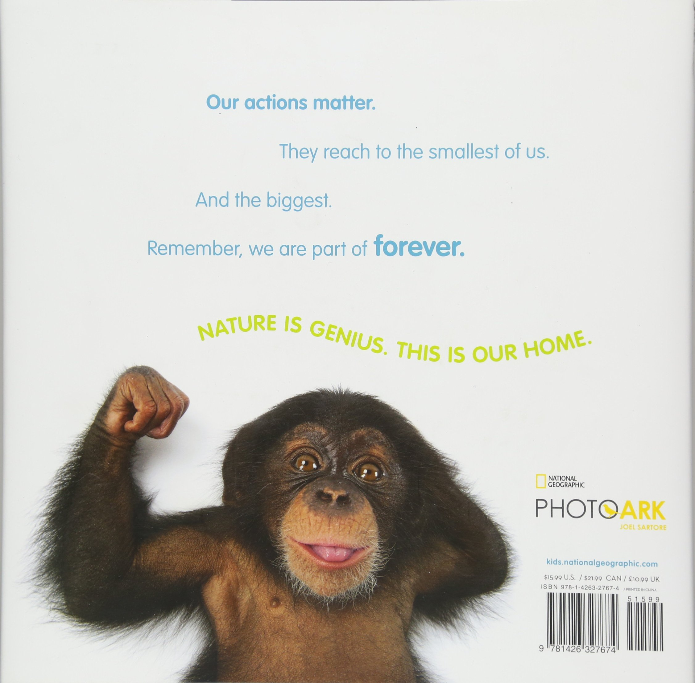 Animal Ark: Celebrating our Wild World in Poetry and Pictures (National Geographic Kids) by National Geographic Society (Image #2)