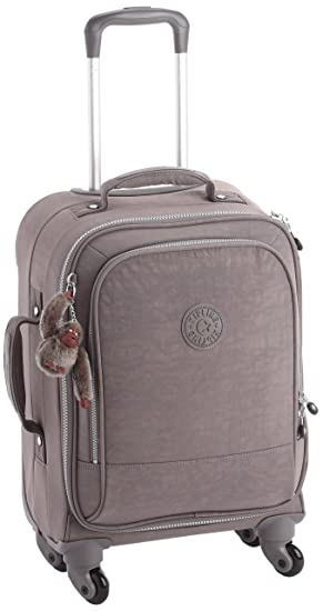 Good Kipling Yubin Spin 55 Medium Spinner (Cabin Size) K15033 Celo Grey
