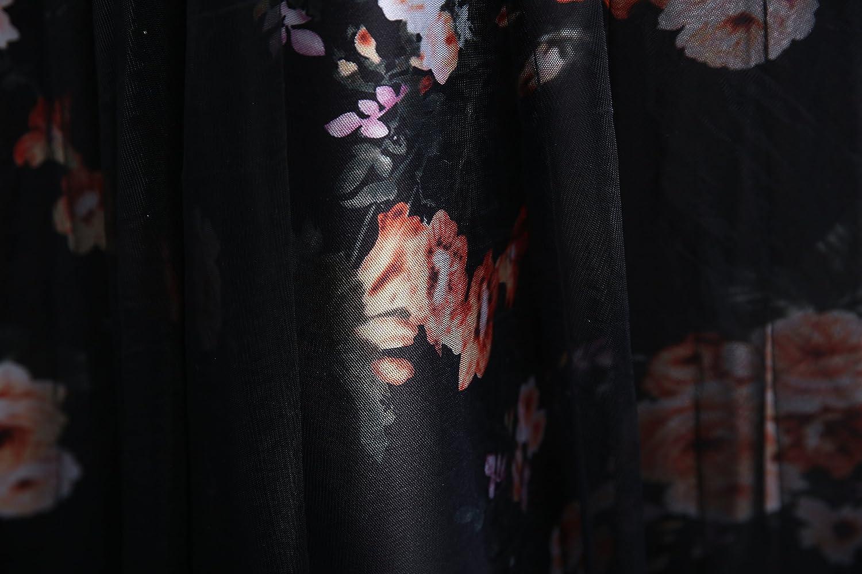 Amazon.com: Lang Cai NV Mao Corea estilo negro 1/2 redondo y ...