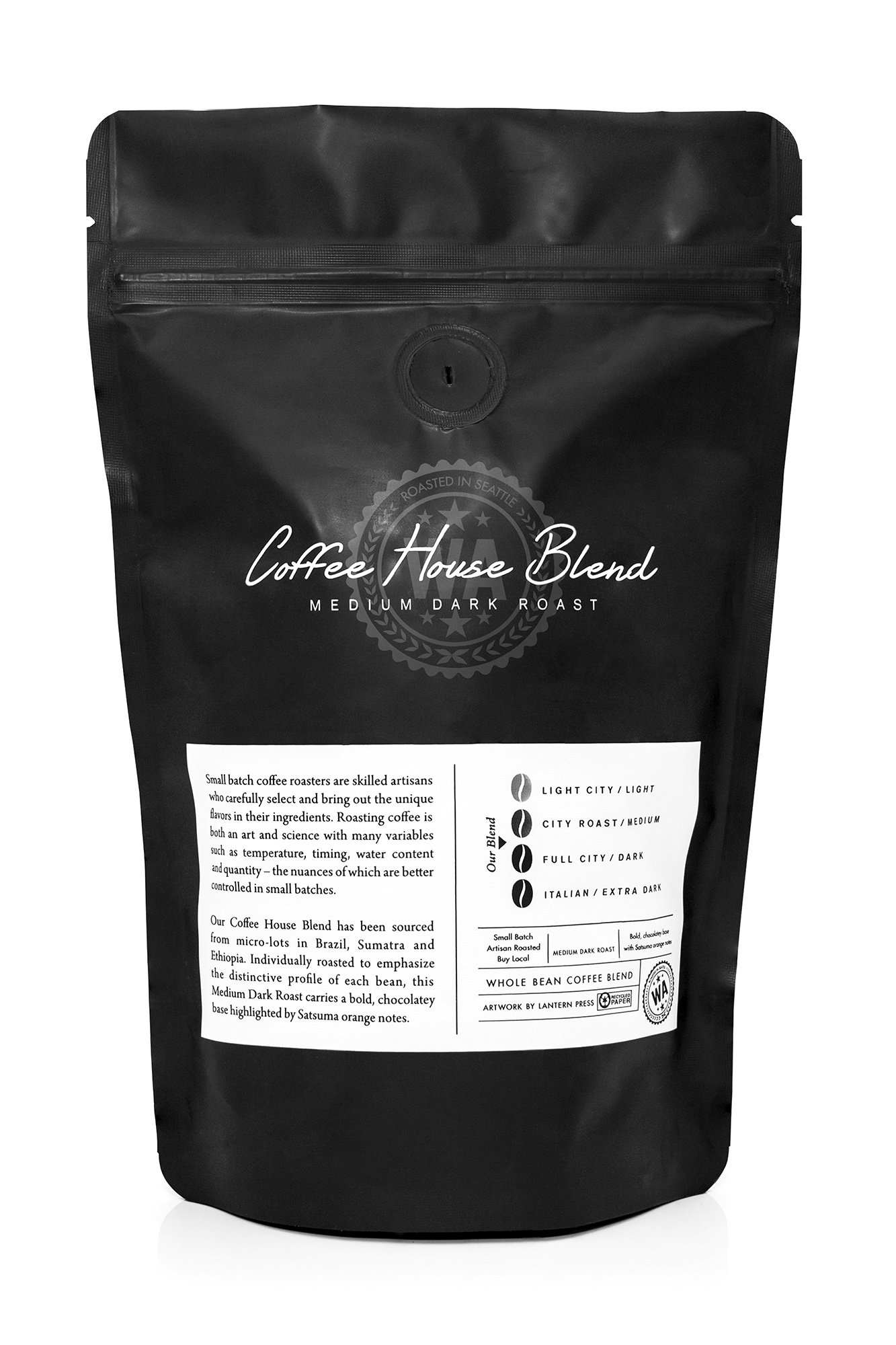 Uncle Tom's Cabin - African American Dance Party Poster (8oz Whole Bean Small Batch Artisan Coffee - Bold & Strong Medium Dark Roast w/Artwork) by Lantern Press (Image #3)