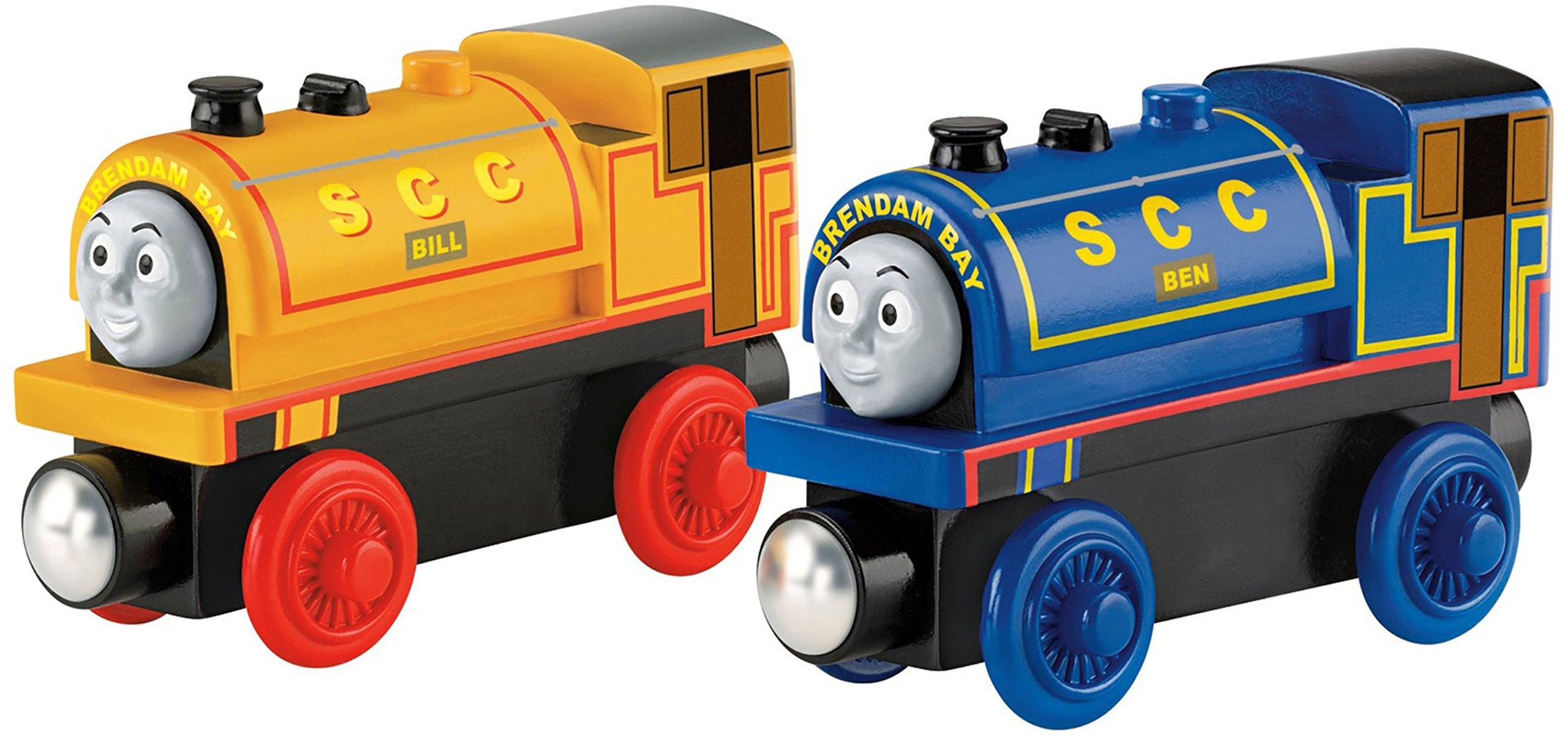 Thomas & Friends Fisher-Price Wooden Railway, Bill & Ben Trains